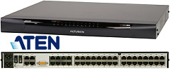 KN-Series IP KVM Switches w/Virtual Media