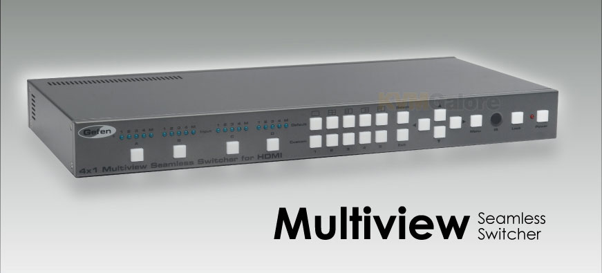 Gefen Seamless Multiview HDMI Switcher