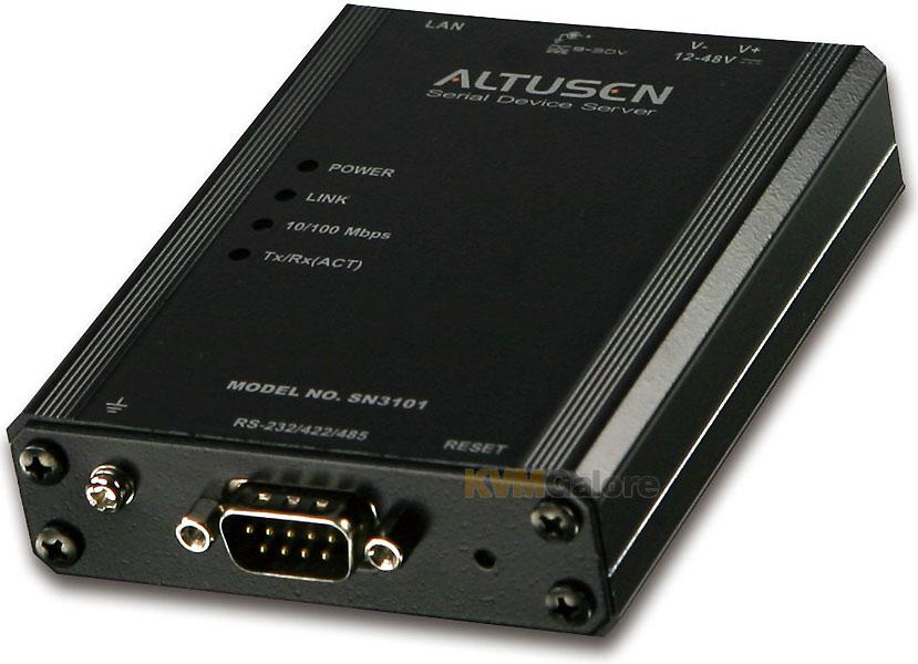 Управление портами ATEN SN3101 Serial Device Server Cервер - ООО 'Комп