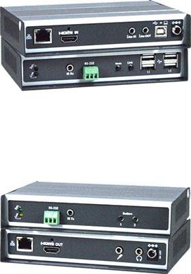 4K HDMI USB KVM over IP, Remote Unit