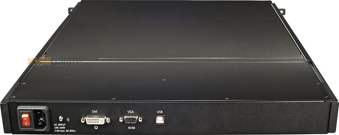 Raritan T1700 Led 1u 17 Inch Lcd Kvm Console Drawer